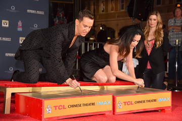 Katy Perry Jeremy Scott Jeremy Scott and Katy Perry Hand Print Ceremony at TCL Chinese IMAX Forecourt