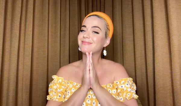 Katy Perry Q&A With Singapore-Based Global E-Retailer SHEIN [yellow,beauty,smile,long hair,swimwear,photo shoot,app,katy perry,global e-retailer shein,q a,yellow,screengrab,q a livestream,beauty,thorax,singapore,abdomen,yellow,thorax,beauty.m]