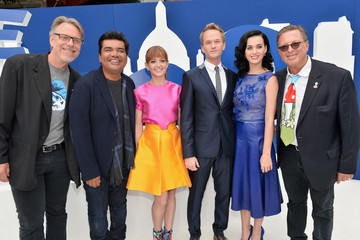 """Katy Perry Neil Patrick Harris Premiere Of Columbia Pictures' """"Smurfs 2"""" - Red Carpet"""