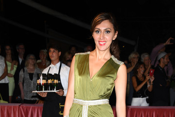 Katya Mtsitouridze Opening Ceremony Dinner Arrivals - 74th Venice Film Festival