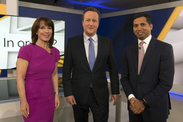 Kay Burley David Cameron Makes The Case To Remain In The EU To Faisal Islam On Sky News