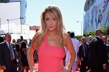 Kaya Jones Red Carpet Arrivals at the ESPY Awards
