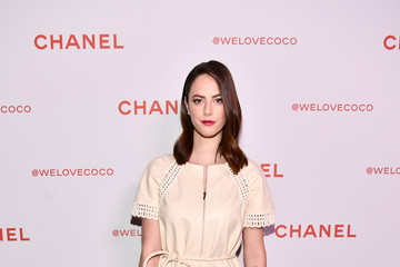 Kaya Scodelario Chanel Party to Celebrate the Chanel Beauty House and @WELOVECOCO