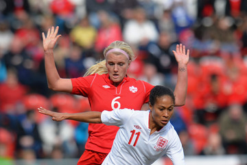 Kaylyn Kyle England Women v Canada Women - Women's International Match
