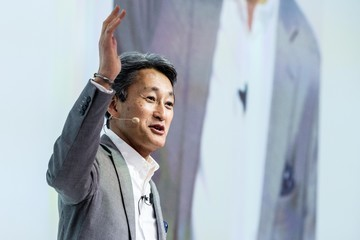Kazuo Hirai Mobile World Congress - Day 1