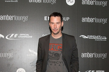 Keanu Reeves G.H.MUMM Victory Lounge Afterparty