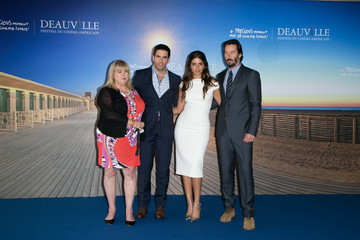 Keanu Reeves Eli Roth 'Knock Knock' Photocall - 41st Deauville American Film Festival