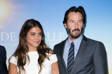 Keanu Reeves Lorenza Izzo 'Knock Knock' Photocall - 41st Deauville American Film Festival