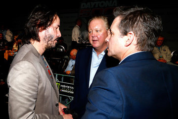 Keanu Reeves 59th Annual DAYTONA 500