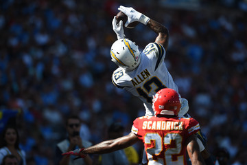 Keenan Allen Kansas City Chiefs vs. Los Angeles Chargers