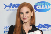 Sarah Rafferty attends Keep It Clean Live Comedy To Benefit Waterkeeper Alliance on February 21, 2019 in Los Angeles, California.