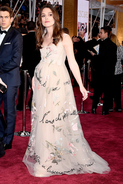 Keira Knightley - Arrivals at the 87th Annual Academy Awards — Part 3