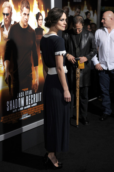"Premiere Of Paramount Pictures' ""Jack Ryan: Shadow Recruit"" - Arrivals [jack ryan: shadow recruit,premiere,event,dress,flooring,little black dress,performance,carpet,arrivals,keira knightley,tcl chinese theatre,california,hollywood,paramount pictures,premiere,premiere]"