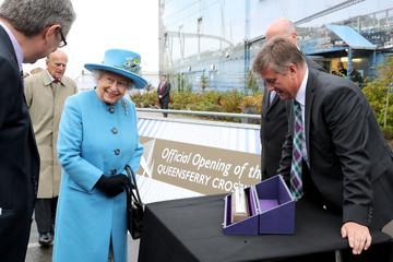 Keith Brown The Queen Opens Queensferry Crossing Over the Forth