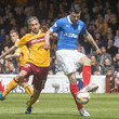 Keith Lasley Motherwell v Rangers - Scottish Premiership: Play-Offs