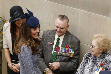 Keith Payne The Royal Couple Attends Dawn Services