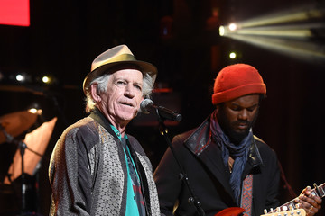 Keith Richards The Second Annual LOVE ROCKS NYC! A Benefit Concert for God's Love We Deliver - Inside