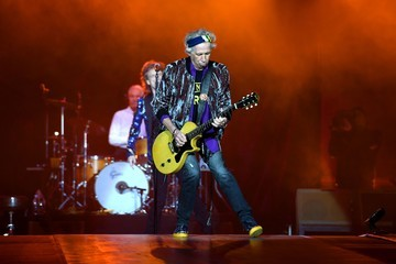Keith Richards The Rolling Stones Perform During the 'Stones - No Filter' Tour at the Esprit Arena in Duesseldorf
