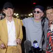 Keith Richards The Rolling Stones Arrive At Burbank Airport