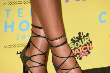 Keke Palmer Stars Attend the Teen Choice Awards 2015