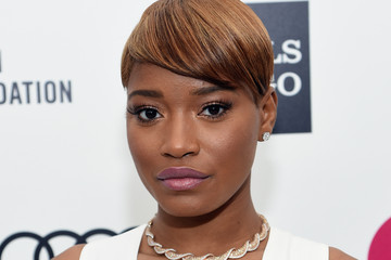 Keke Palmer Arrivals at the Elton John AIDS Foundation Oscars Viewing Party — Part 3