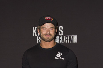 Kellan Lutz Knott's Scary Farm Black Carpet Party