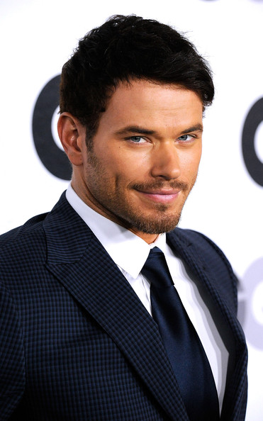 "Kellan Lutz Actor Kellan Lutz arrives at the 16th Annual GQ ""Men Of The Year"" Party at Chateau Marmont on November 17, 2011 in Los Angeles, California."