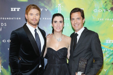 Kellan Lutz Inside the Fragrance Foundation Awards