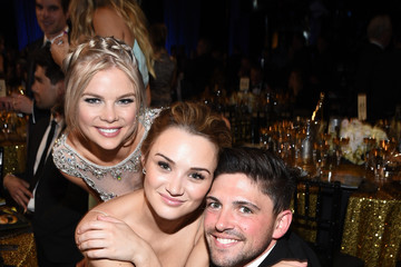 Kelli Goss Hunter King The 42nd Annual Daytime Emmy Awards - Backstage And Audience