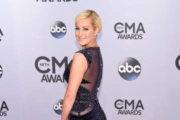 Kellie Pickler Arrivals at the 48th Annual CMA Awards