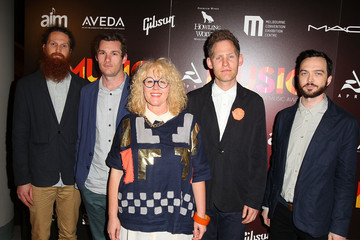 Kellie Sutherland Arrivals at the APRA Music Awards