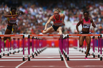 Kellie Wells Sainsbury's Anniversary Games - IAAF Diamond League 2013: Day Two