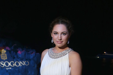 Kelly Brook De Grisogono Divine in Cannes Dinner Party
