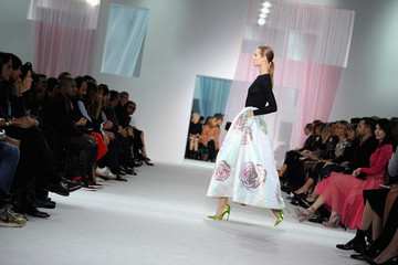 Kelly Chan Christian Dior: Runway - Paris Fashion Week Womenswear Spring / Summer 2013