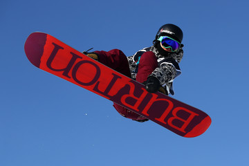 Kelly Clark FIS Freestyle Ski World Cup 2016/17 - Halfpipe - Training
