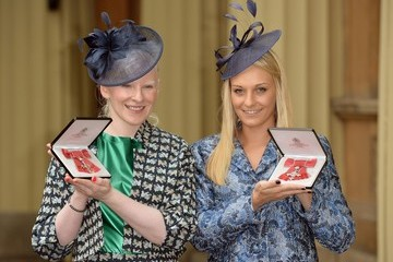 Kelly Gallagher Investitures Held at Buckingham Palace