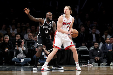 Kelly Olynyk Miami Heat v Brooklyn Nets