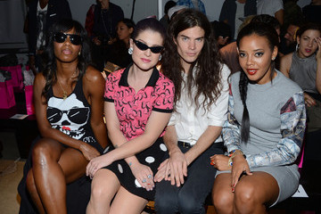 Kelly Osbourne Santigold Gerlan Jeans - Front Row - Spring 2013 Mercedes-Benz Fashion Week