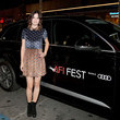 Kelly Oxford Audi Arrivals at 'The Disaster Artist' at AFI Festival