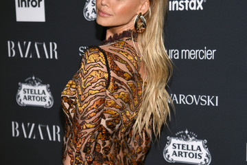 Kelly Rohrbach Harper's BAZAAR Celebrates 'ICONS By Carine Roitfeld' At The Plaza Hotel Presented By Infor, Laura Mercier, Stella Artois, FUJIFILM And SWAROVSKI - Red Carpet