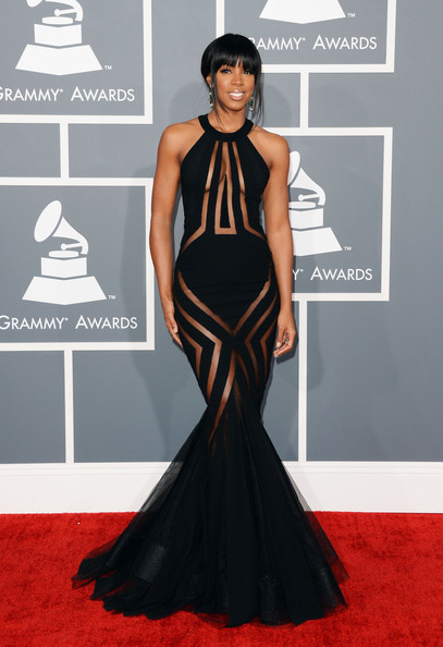 Kelly Rowland - The 55th Annual GRAMMY Awards - Arrivals