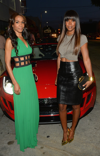 Celebs at the Jaguar F-Type Hollywood Event
