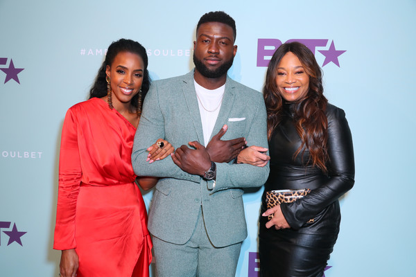 """BET's """"American Soul"""" Emmy FYC Screening Event [red,pink,beauty,event,fashion,photography,award,magenta,suit,fashion design,connie orlando,kelly rowland,sinqua walls,north hollywood,california,bet,american soul emmy fyc screening event]"""