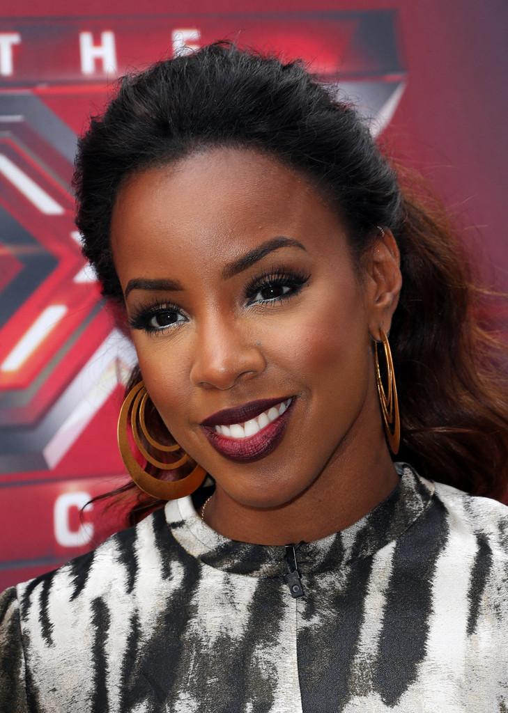 Kelly Rowland Shows Us How to Nail a Wavy Ponytail