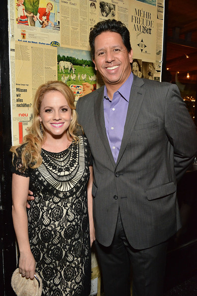 Kelly Stables with friendly, Husband Kurt Patino