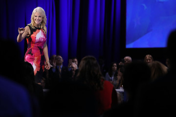 Kellyanne Conway Leading Conservatives Gather For Annual CPAC Event In National Harbor, Maryland