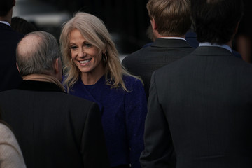Kellyanne Conway President Trump Speaks on the Passage of the GOP Tax Plan at The White House