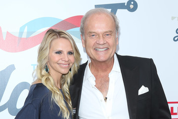 Kelsey Grammer Kayte Walsh Steven Tyler's Grammy Awards Viewing Party Benefiting Janie's Fund - Arrivals