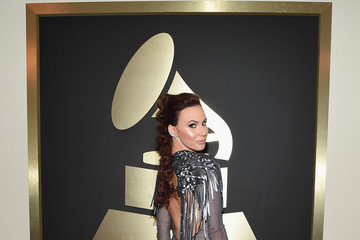 Keltie Knight The 57th Annual GRAMMY Awards - Red Carpet
