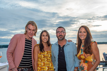 Ken Downing Katie Amato Hamptons Magazine Molly Sims Cover Dinner